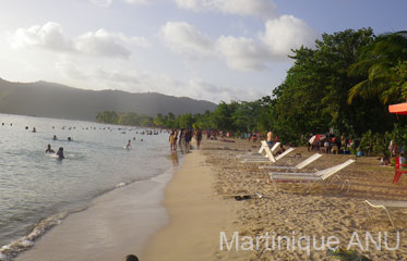 La pointe Marin en Martinique