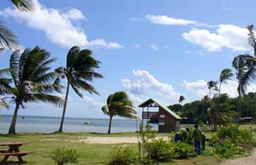 Plage de la pointe Faula en Martinique